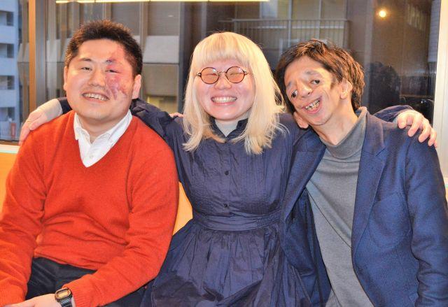 (左から)三橋さん、神原さん、石田さん