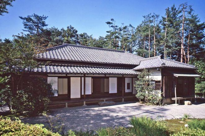 明治村の中にある「森鴎外・夏目漱石住宅」