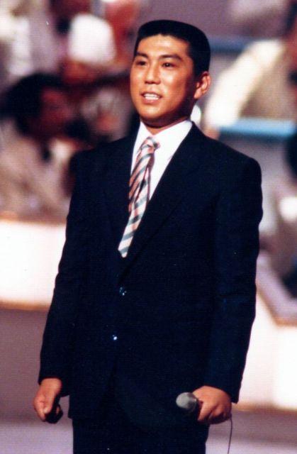 深谷委宏さんが演歌歌手「段田男」として活動していたころの姿=本人提供