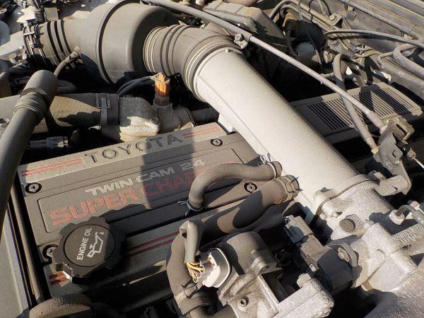 トヨタの名機「1G-GZE」。型式の「Z」はスーパーチャージャーを表す