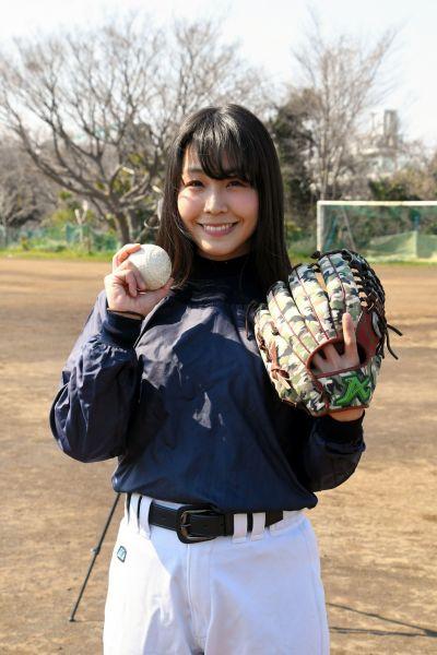 イチローと共演した野球少女・小玉百夏さん