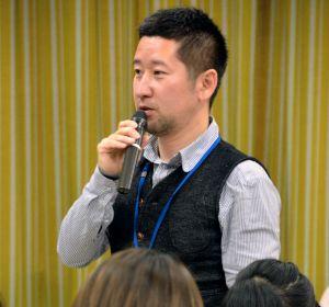 くまもとクロスロード研究会の代表、徳永伸介さん