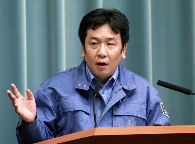 東日本大震災の発生当時、官房長官だった枝野幸男氏。