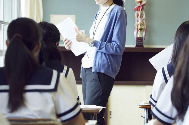 小学校の時、通常学級に通えなくなった三女。高校は特別支援学校を選んだ。(画像はイメージ)