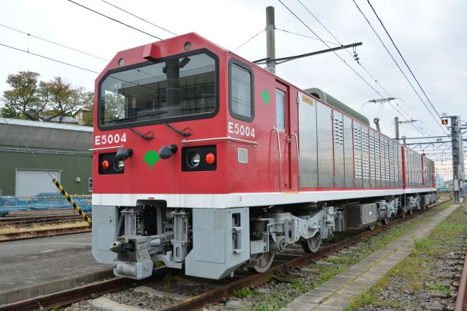 「電気機関車 E5000形」の実物