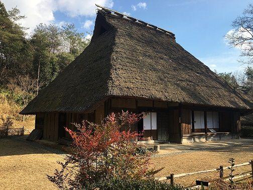 大和民俗公園には古民家もあります