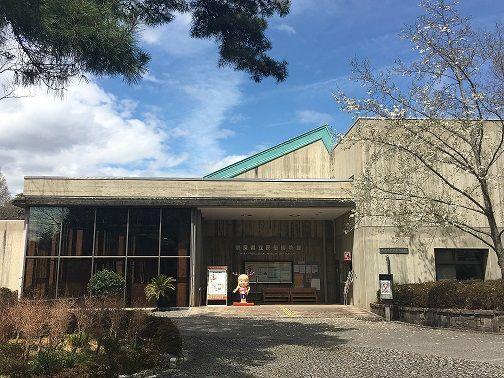 奈良県立民俗博物館のエントランス