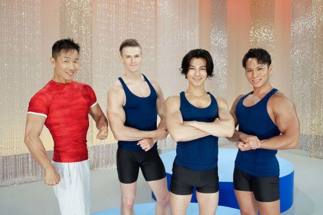 NHK『みんなで筋肉体操』に筋肉指導者として出演した近畿大学生物理工学部准教授・谷本道哉さん。