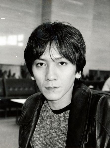 吉井和哉さん=1995年3月