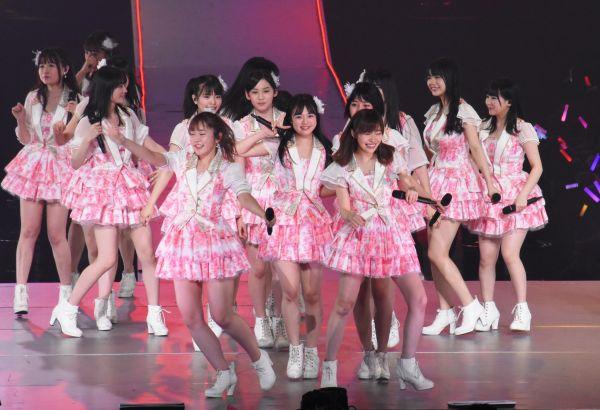 2017年4月のさいたまスーパーアリーナ。チームK4のキャプテンとして指原さんとともにチームを支えた多田愛佳さんの卒業コンサート。メンバーからみて父と母のような、叱ってくれて、励ましてくれる存在でした