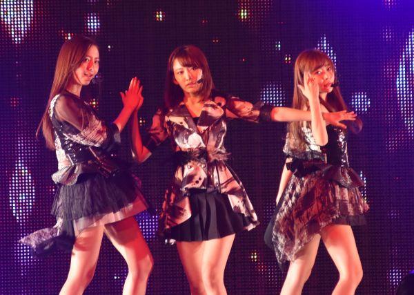 2018年2月、春のアリーナツアー初日神戸公演。HKTとして初アルバム発売もあり、オリジナル曲、楽曲の幅が広がりました。1人1曲全員センター曲、寸劇、そして、激しいダンスパートも