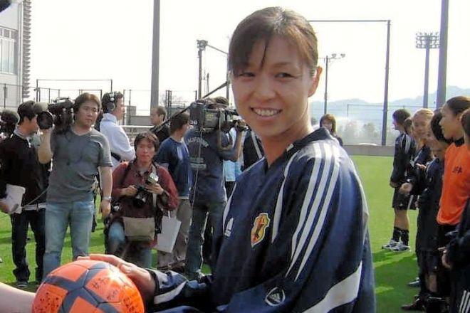 日本代表選手当時の大部由美さん