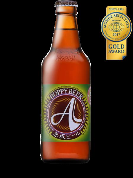 赤坂ビール ピルゼン。下面発酵のラガータイプのビールで、ビールの本場ドイツのピルゼンさながらの仕上がり=ホッピービバレッジのホームページより