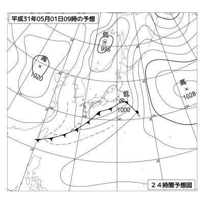 「平成31年5月1日」と表記された予想図