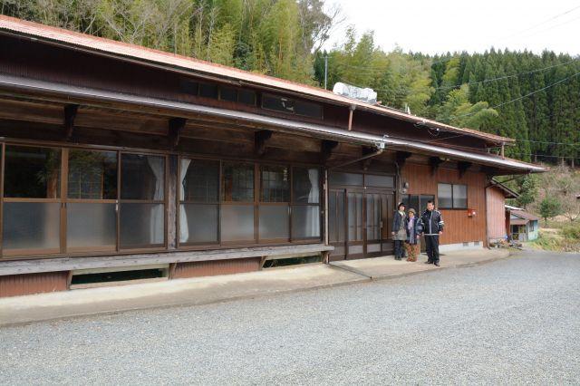 映画「しゃぼん玉」で市原悦子さん演じる椎葉スマの自宅として使用された椎葉イトノさんの自宅