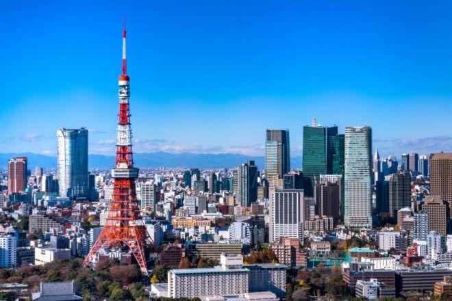 おなじみの東京タワー