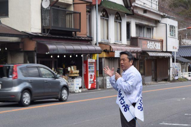 「若い人たちの意見が町政に反映できない」と訴えて2016年の町議選にトップ当選した鈴木正美さん