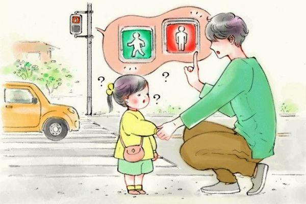 信号の意味を教えようとしても…=イラスト・minchiさん