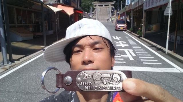 問屋さんの倉庫では、「日本平」のキーホルダーも保護させてもらった。