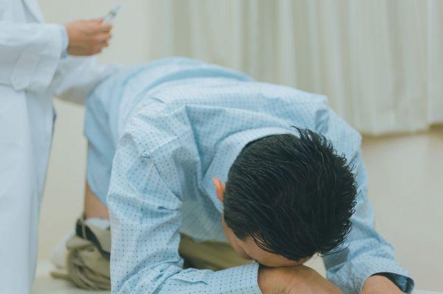注射で治せる痔も(写真はイメージ)