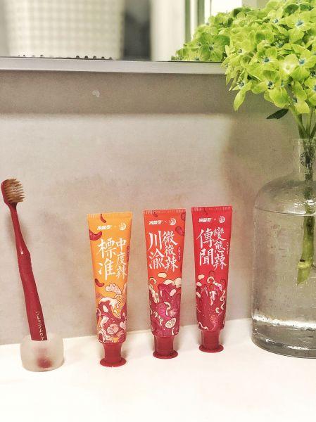 限定販売の火鍋歯磨き粉セット