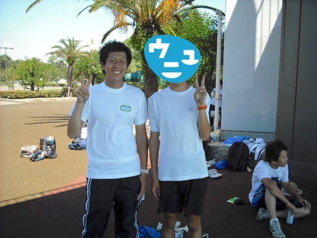 2008年の写真(左)。当時65kgほどで、別人のよう。