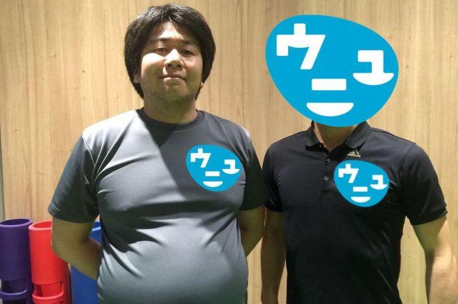 2015年。体重が115kgだったときの写真。