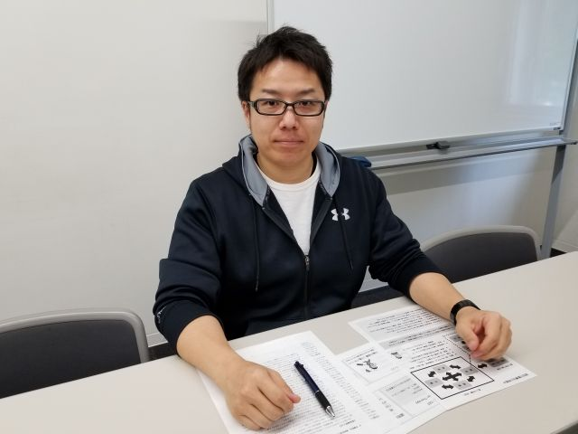 かんもくグループ北海道の広瀬慎一さん