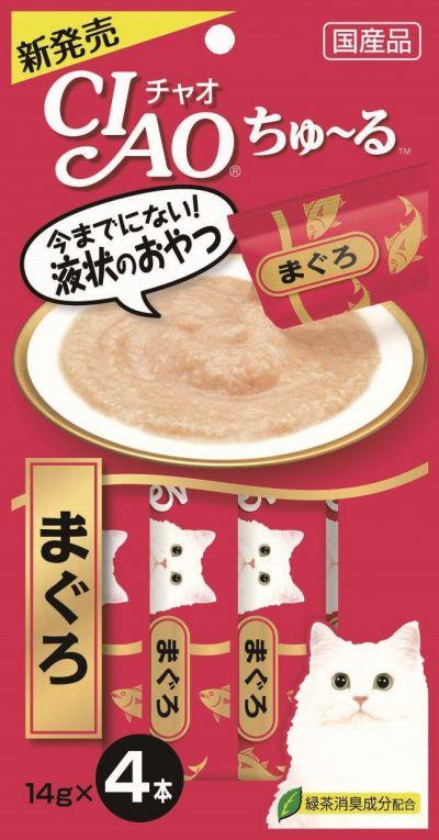 「CIAOちゅ~る まぐろ」(4本入り)