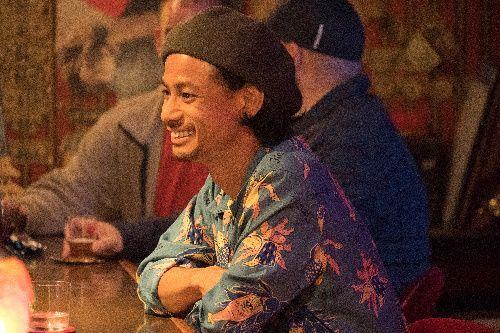 映画に出演したMONGOL800のギター&ボーカル儀間崇さん(c)2019「小さな恋のうた」製作委員会