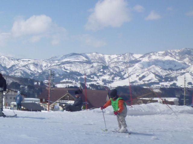 野沢温泉にあるスキー場