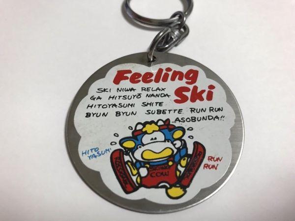 「Feeling Ski」で始まるが、ほとんど日本語をローマ字にした文章なのが「ファンシー絵みやげ」の特徴。