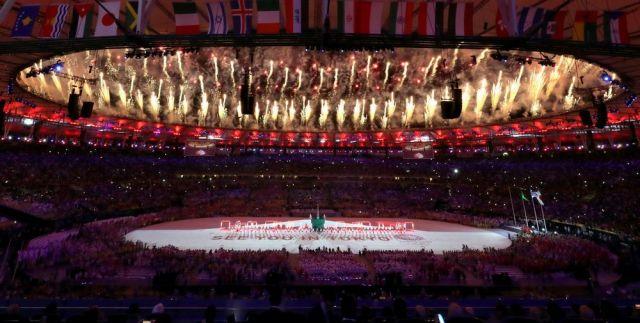 リオ五輪の閉会式=2016年8月21日