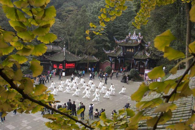 道教の発祥地と言われる青城山