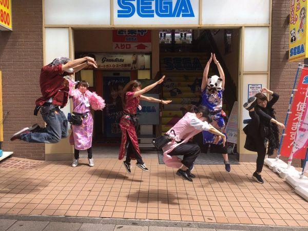 セガ横浜中華街の「SEGAジャンプ」