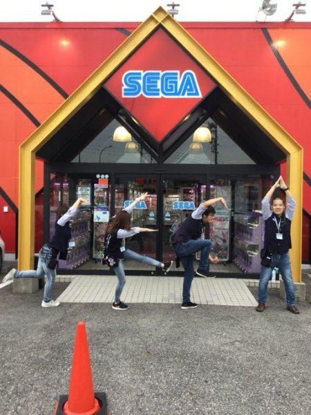 セガ豊田の「SEGAジャンプ」