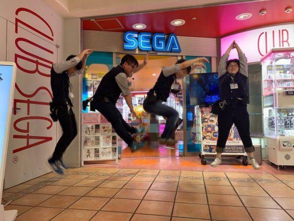 クラブセガ新杉田の「SEGAジャンプ」