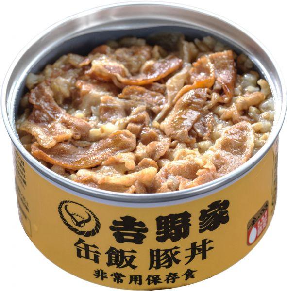 「缶飯」の豚丼