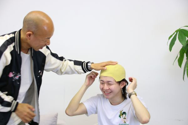 「withよきき」収録中の様子