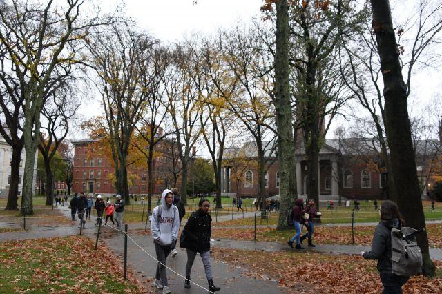 米ハーバード大のキャンパス