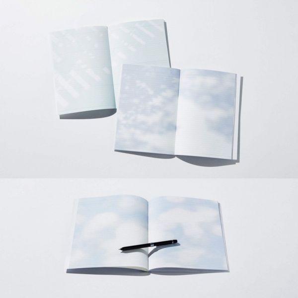 松井峻輝さんと清水明彦さんが制作した「陽だまりノート」