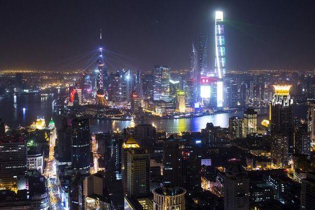 上海の観光名所、バンド=2014年12月
