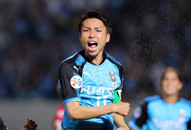 安彦選手がマネージャーを務めていた日本代表経験を持つJ1川崎の小林選手