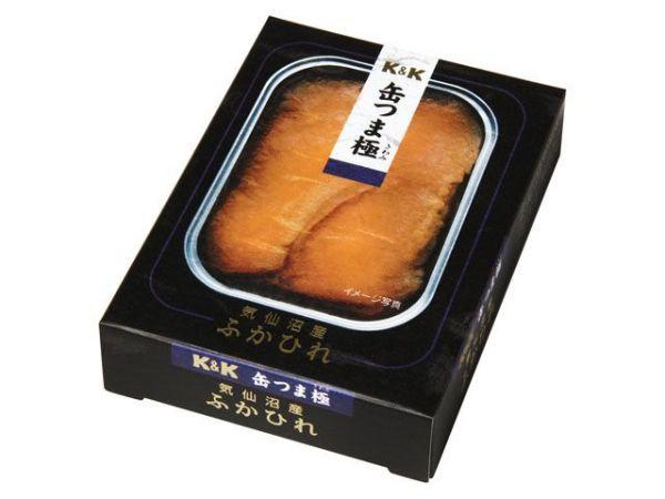 缶つま極 気仙沼産ふかひれ(税抜1万円)=国分グループ本社提供