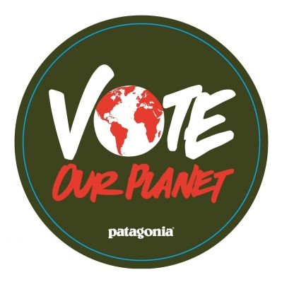 Vote Our Planetのキャンペーンロゴ