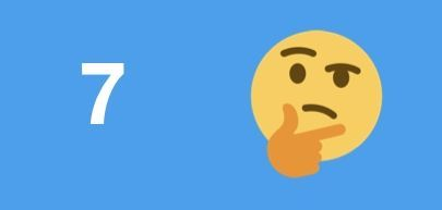 日本の利用者にTwitter上で使われた絵文字7位(2019年1月1日~7月1日)