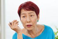日本の女性学・ジェンダー研究のパイオニア、上野千鶴子・東大名誉教授=瀬戸口翼撮影