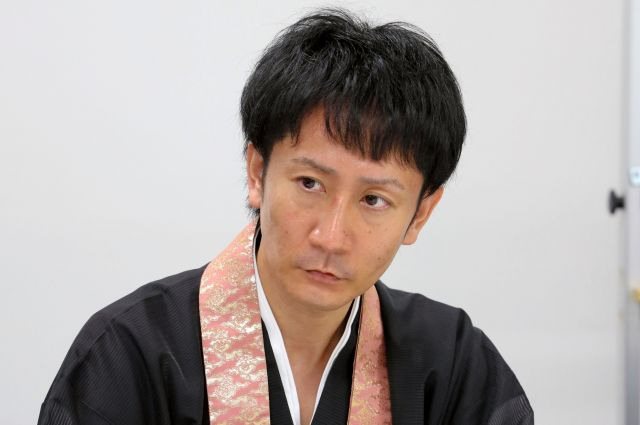 土井さん=朝日新聞名古屋本社、川津陽一撮影