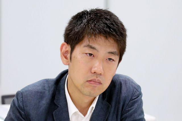 村瀬さん=朝日新聞名古屋本社、川津陽一撮影