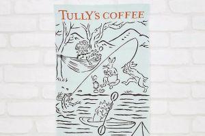 「鳥獣戯画の手ぬぐい」、なぜタリーズコーヒーが? 担当者に聞いた